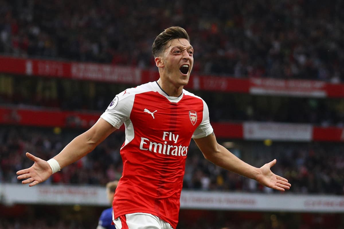 Ozil has made it clear he wants to stay with Arsenal