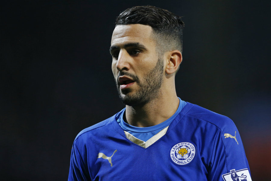 Arsenal and Leicester are in talks for Mahrez