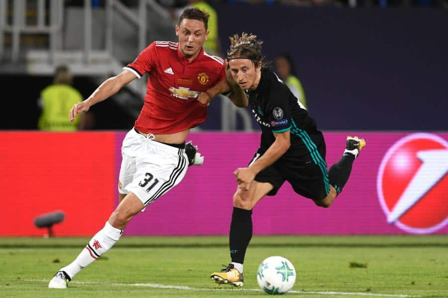 United players for an impressive performance against Real Madrid in the UEFA Super Cup