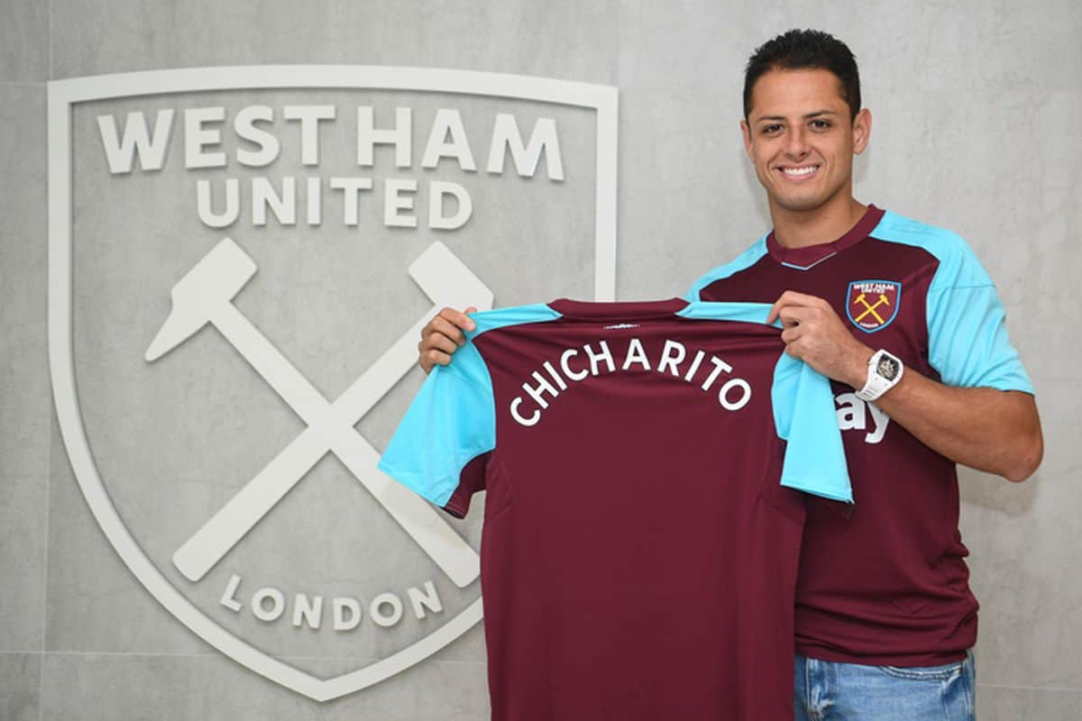 Hernandez admits he does not know if he will celebrate a debut goal against former club Manchester United