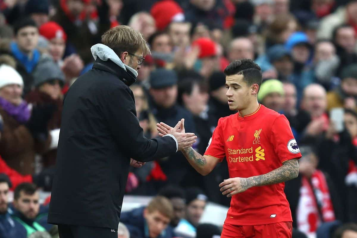 Klopp has spoken about Philippe Coutinho