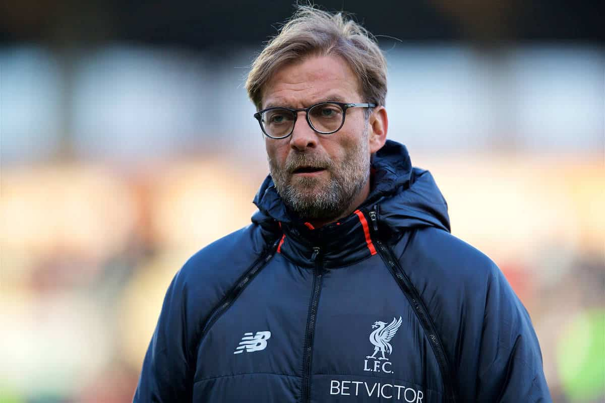 "Klopp has admitted that he is expecting to deal with ""angry"" players next season"