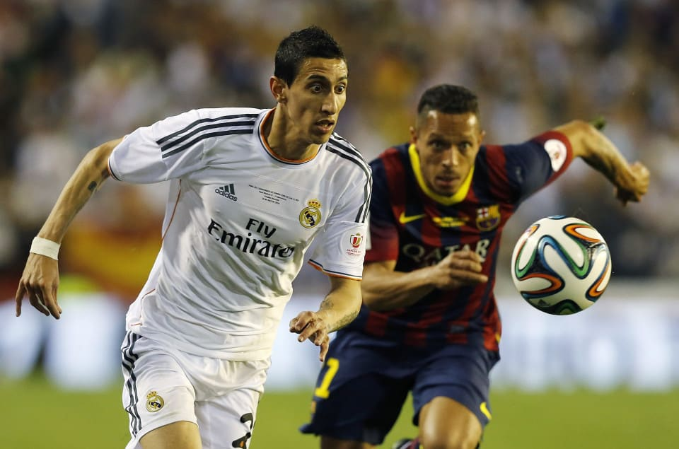 di maria real madrid