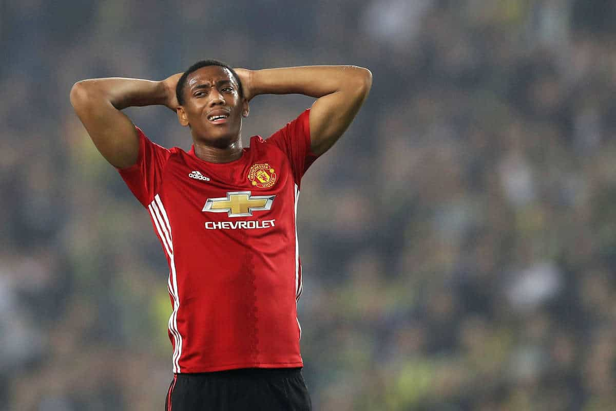 Mourinho has informed Barcelona of his terms for Anthony Martial's departure