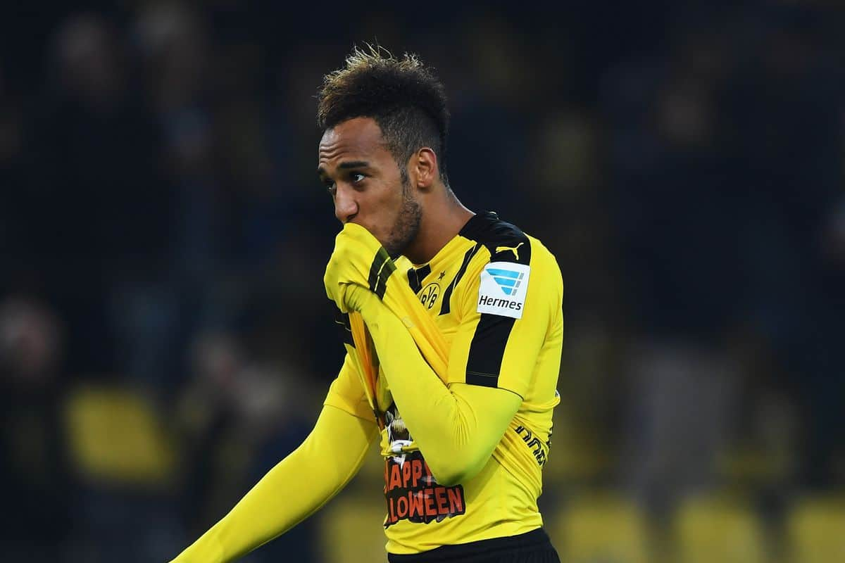 Aubameyang admits Borussia Dortmund were prepared to sell him last summer