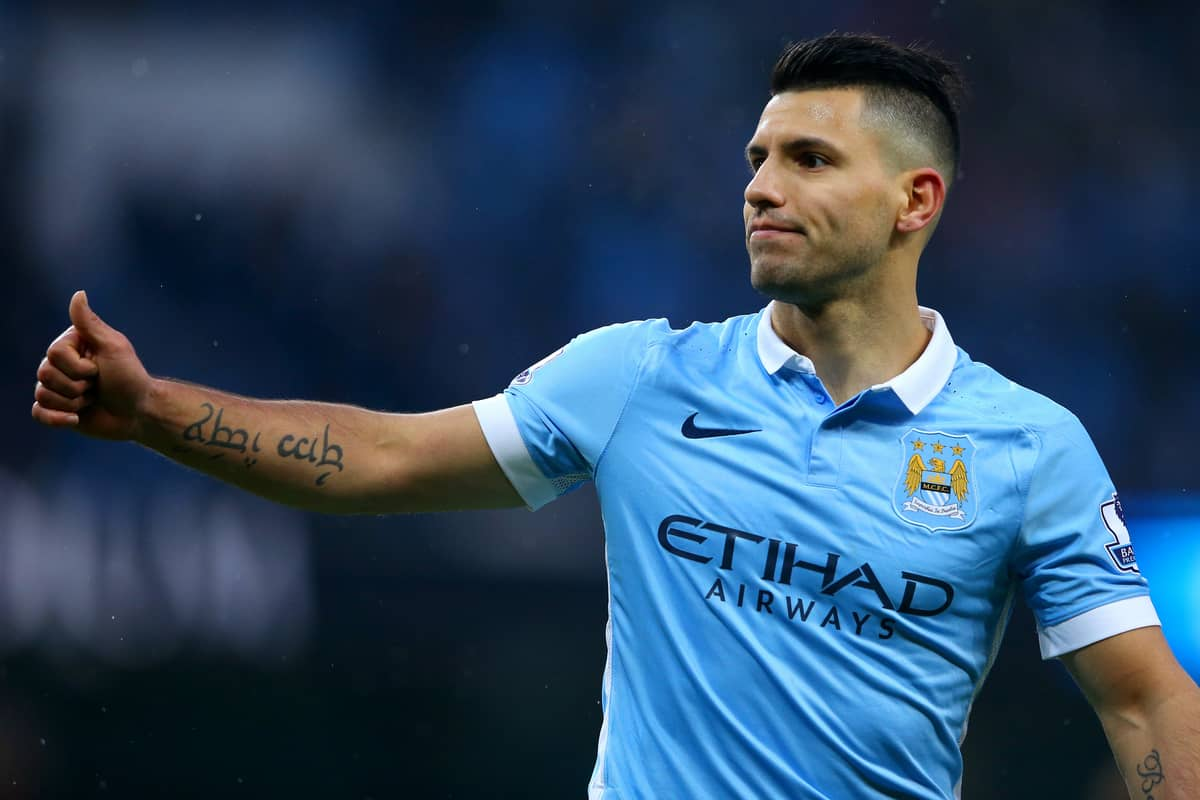 """Aguero admits he would """"love"""" to see Lionel Messi join him at City"""