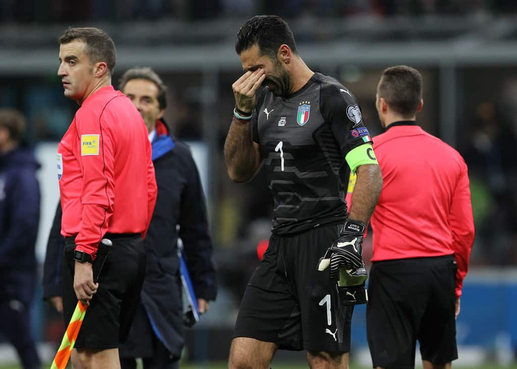 ItalyvSwedenFIFA2018WorldCupQualifierUlDwAhUPggEx - WC-2018 to miss Legendary Retirement. Buffon and Italy out. REVIEW