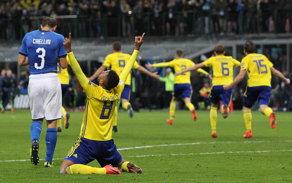ItalyvSwedenFIFA2018WorldCupQualifiernb 81Jn3SItx - WC-2018 to miss Legendary Retirement. Buffon and Italy out. REVIEW