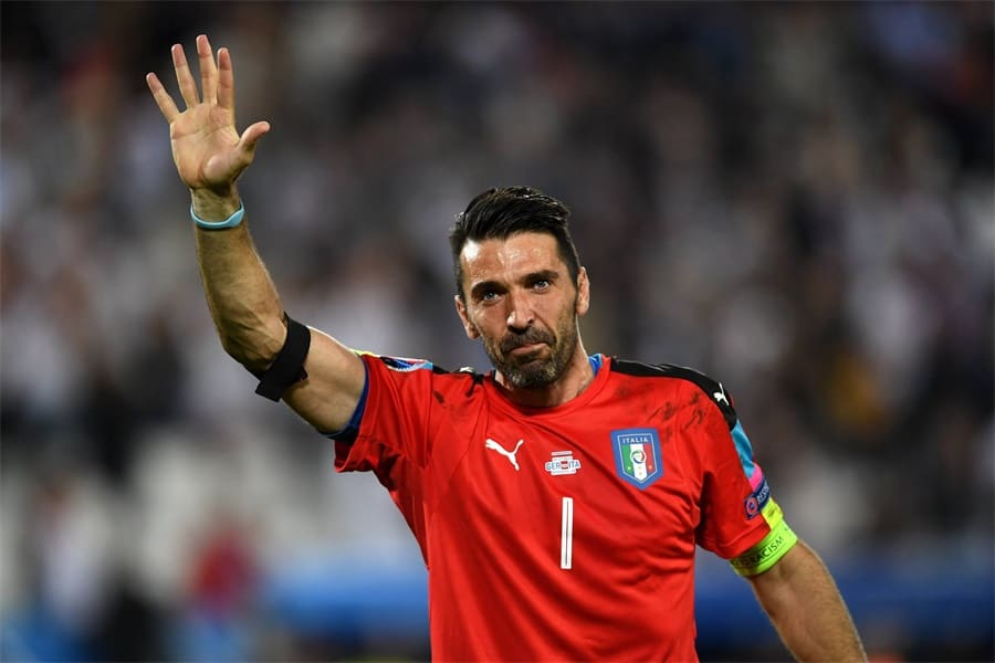 Niestandardowe Dekoracje Ścienne Plakat Tapety Piłkarz Soccer Gwiazda font b Buffon b font Gianluigi font b 1 - Gianluigi Buffon 'confirms retirement from international football'
