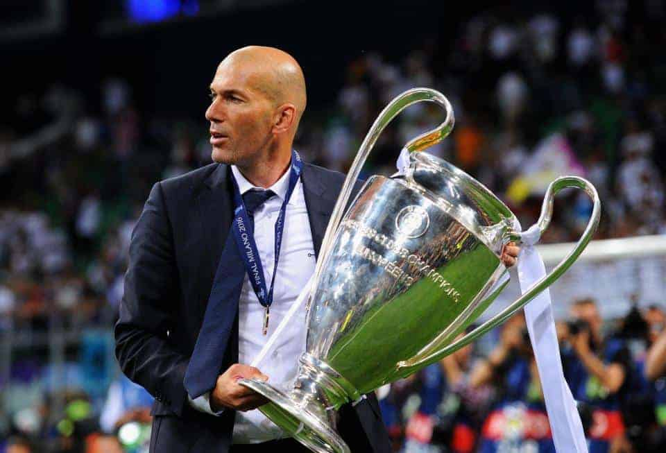 zinadine zidane  - TOP 5 reasons why you still must believe in this Real Madrid team