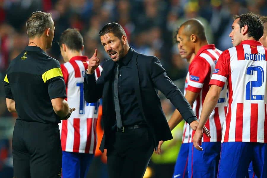 72simeone2905a - Diego Simeone: 'Champions League exit can be a positive'