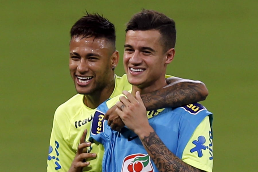 coutinhoneymar home - Philippe Coutinho: 'Neymar congratulated me on Barcelona move'