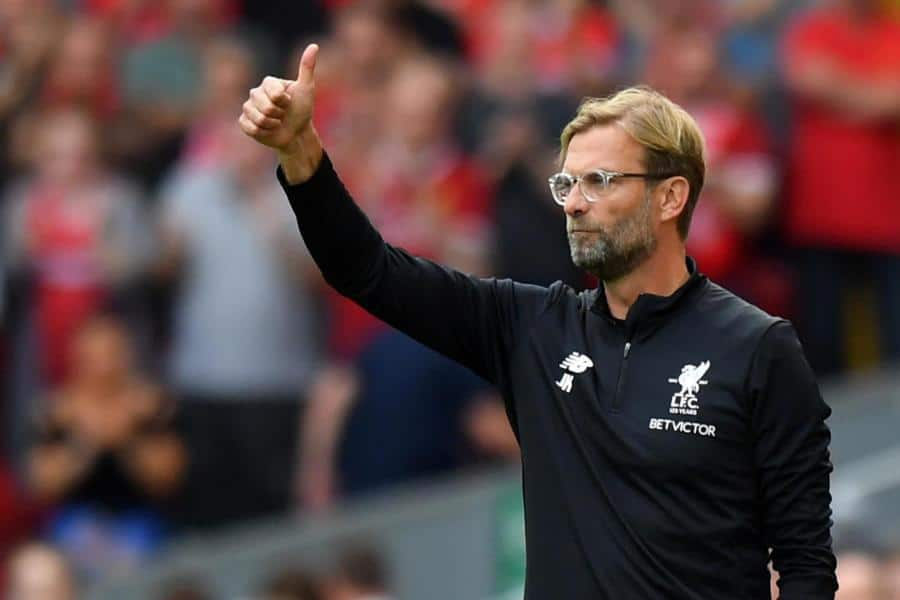 klopplivars270817a - Liverpool boss Jurgen Klopp: 'Mohamed Salah fit to face Manchester City'