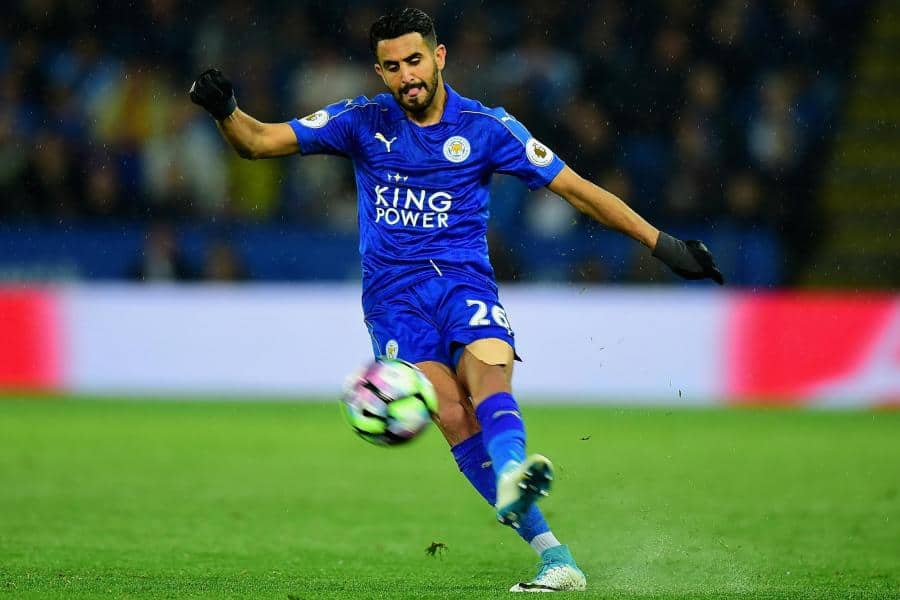 mahrez2707abc - Claude Puel: 'I want to keep Riyad Mahrez'