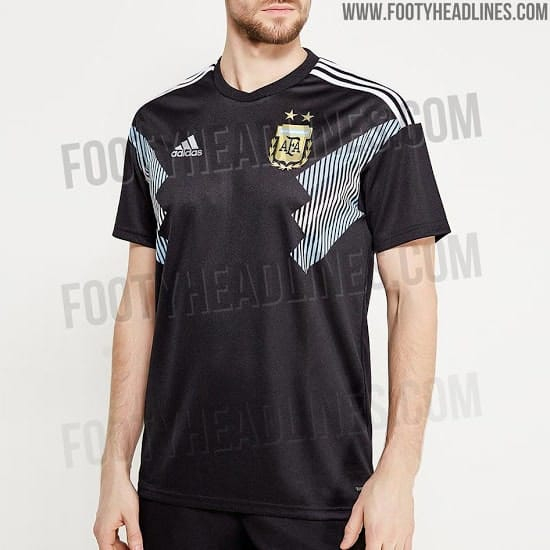 1 12 - Argentina 2018 World Cup away kit leaked (Photos)