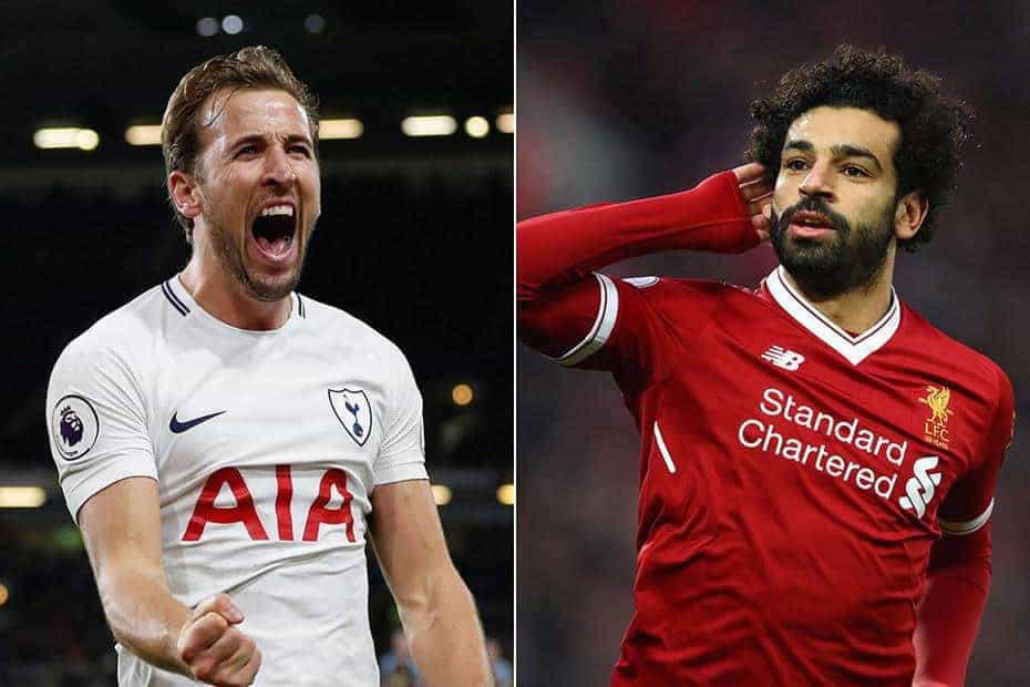 Salah - The top 10 best shirt-sellers since 1st January 2018