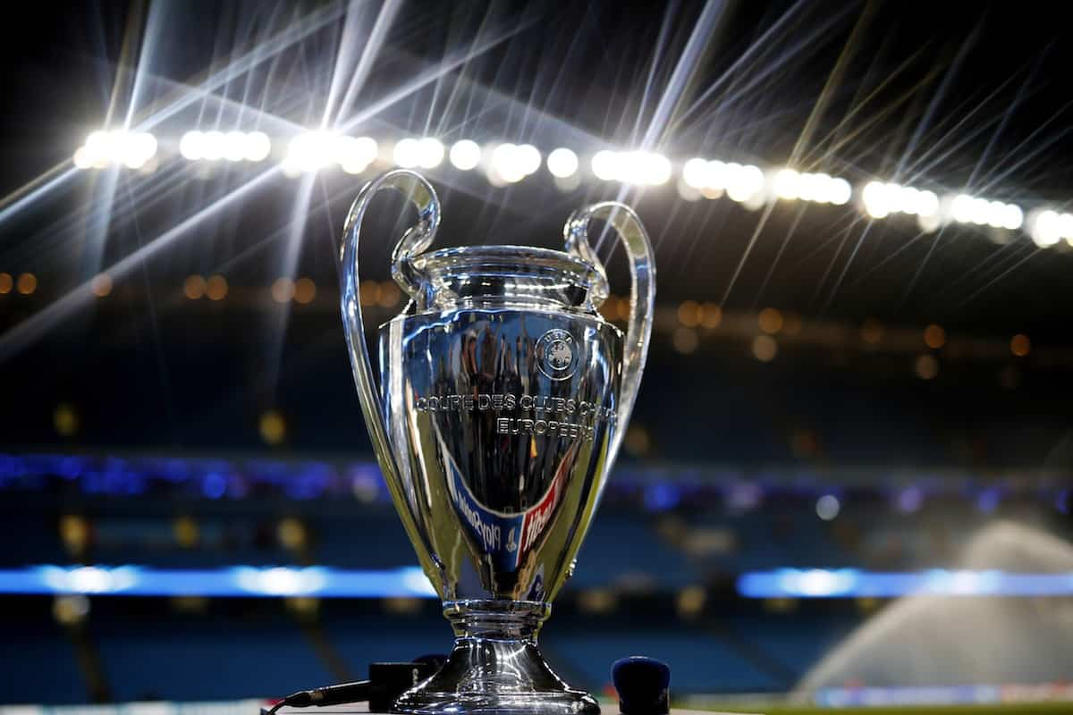 UCL Trophy In Malaisya PHOTO
