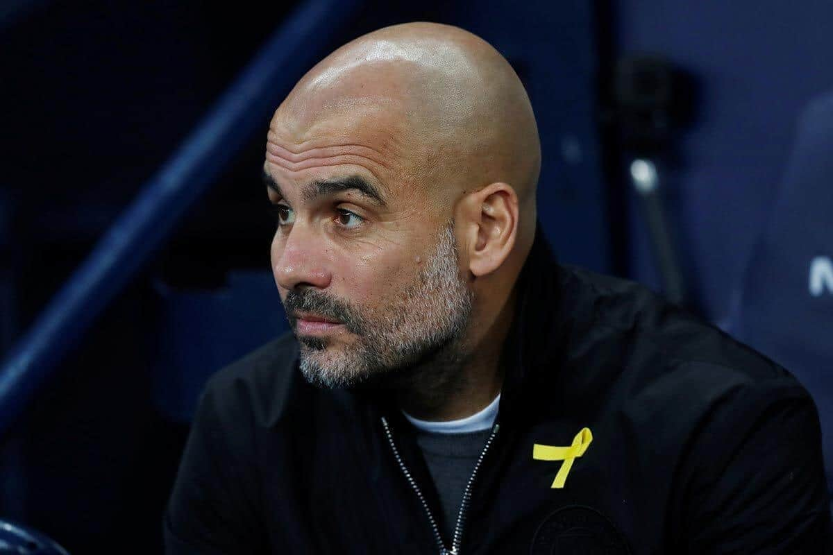 guardiola geel lintje man city - Barcelona youngster to commit his future with Manchester City