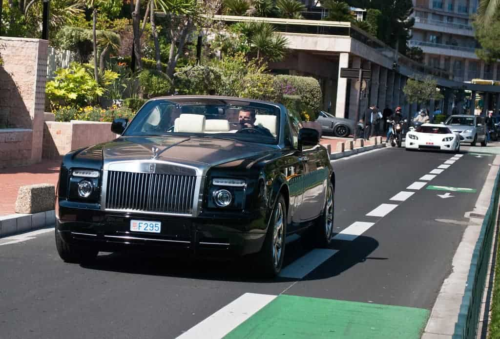 Ronaldo Rolls Royce Phantom Drophead Coupe b - Cristiano Ronaldo and his luxury car collection