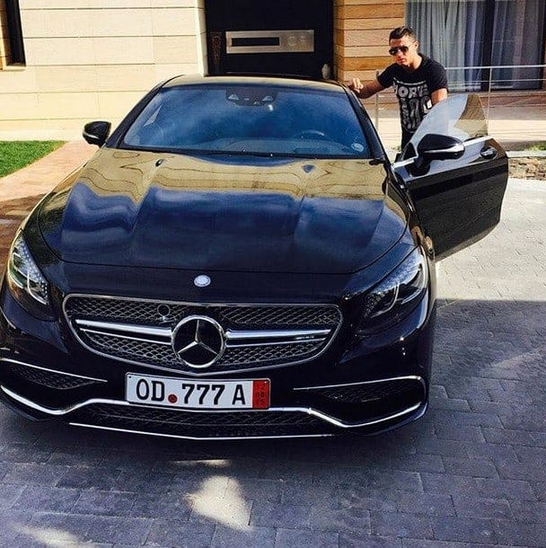 S65 AMG Coupe - Cristiano Ronaldo and his luxury car collection