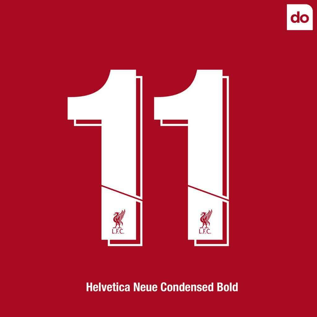 Liverpool 2018-19 Kit Font Revealed (Photo) - Vbet News