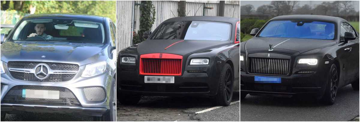 united - Luxury cars of football players (Premier league)