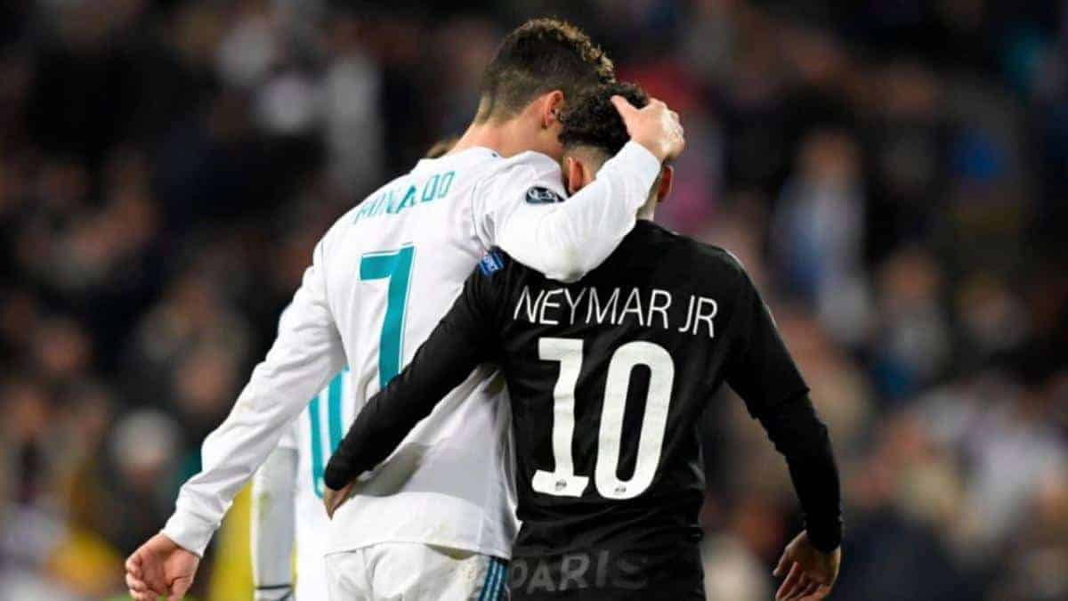 20180214 The18 Image Cristiano Ronaldo vs Neymar stats 2018 Champions League - Zinedine Zidane hinted about Neymar move