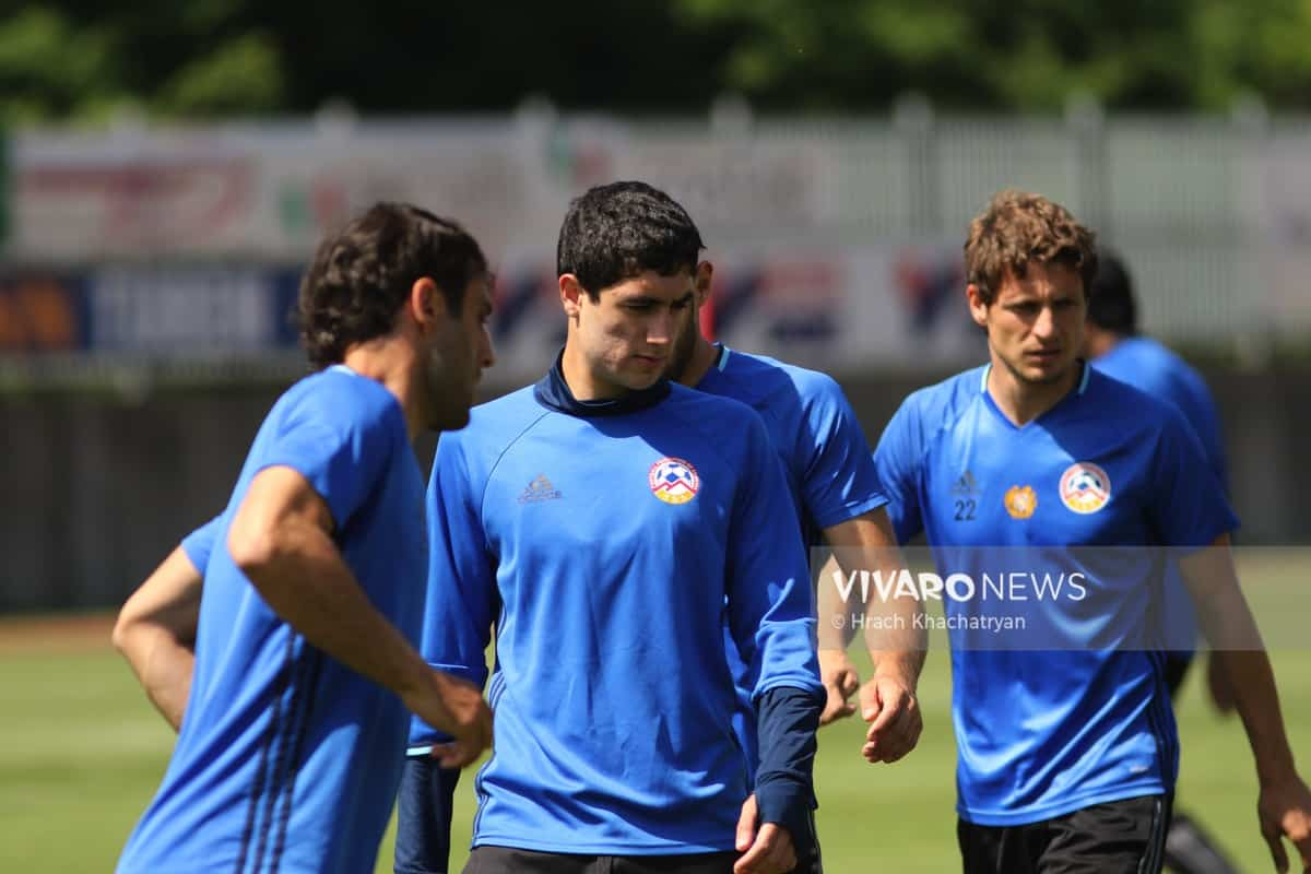 2Z7A1058 - Exclusive: Henrikh Mkhitaryan had training with his teammates from national team in Hall in Tirol (Video by Vivaro News)