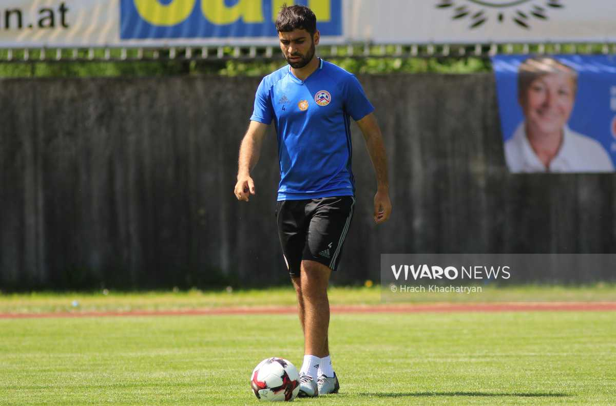 2Z7A1078 - Exclusive: Henrikh Mkhitaryan had training with his teammates from national team in Hall in Tirol (Video by Vivaro News)