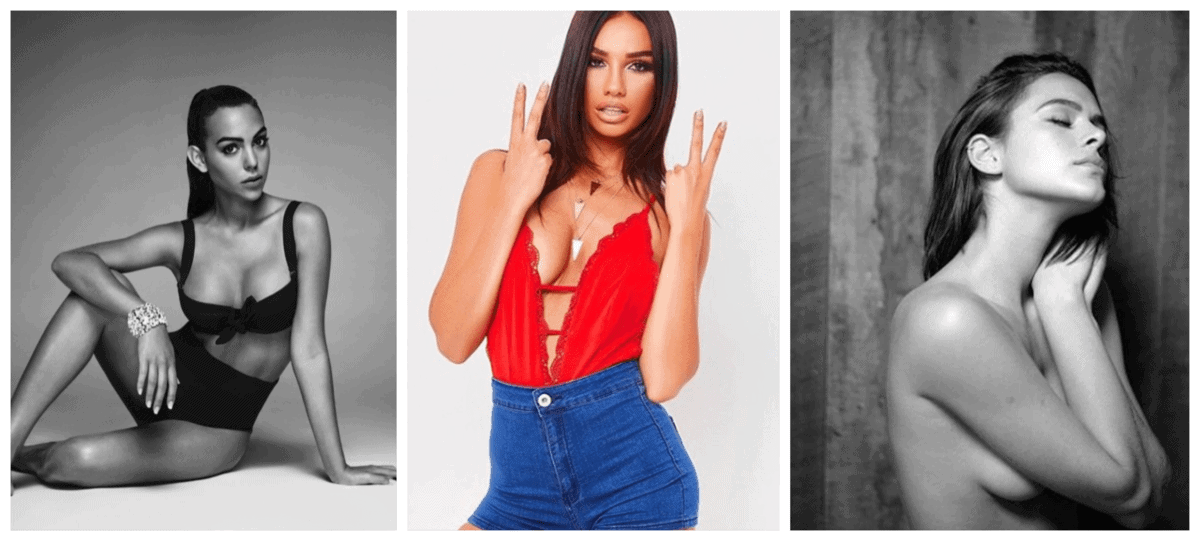 BeFunky collage - TOP 10 Hottest Wags Going to FIFA World Cup 2018
