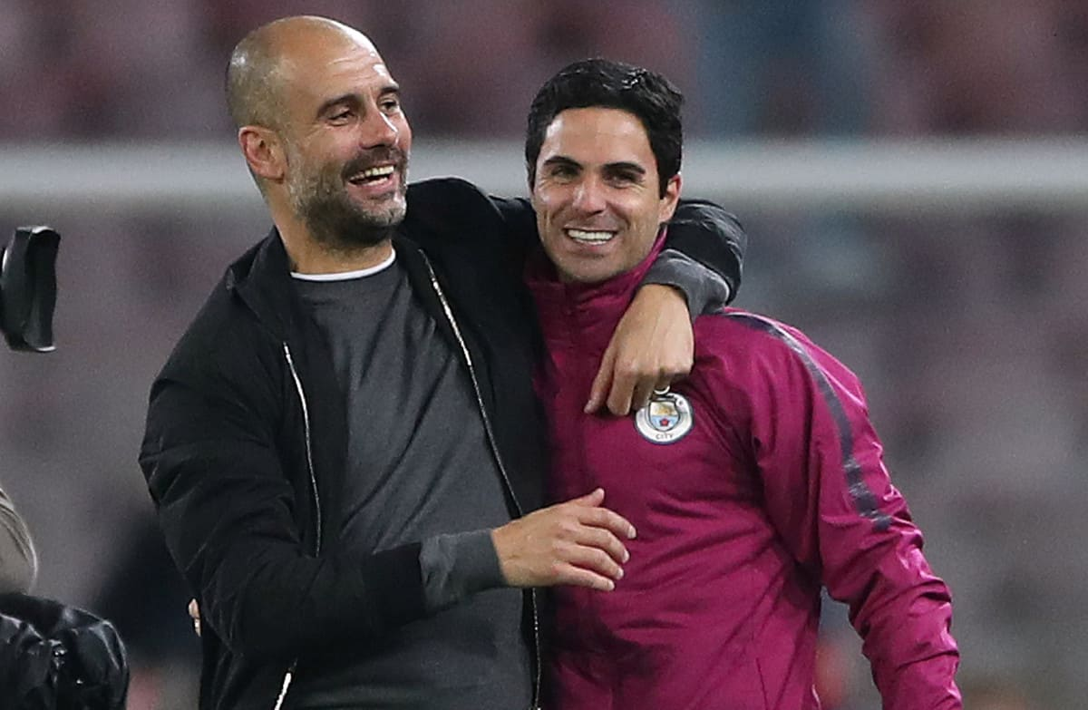 river - Arsenal supporters will love what Pep Guardiola has said about Mikel Arteta's coaching methods