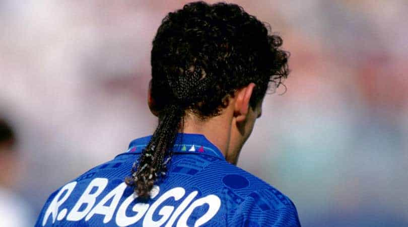 baggio 9 - The 10 most iconic World Cup hairstyles of all-time
