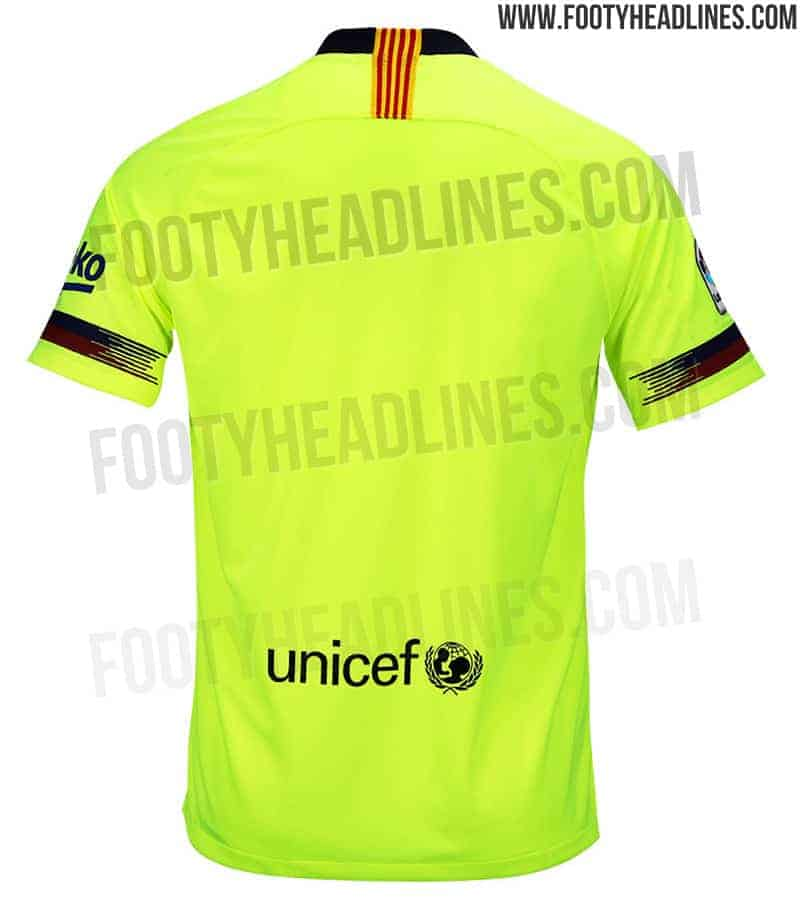 online retailer d72e5 79a75 Barcelona new 18-19 away kit leaked: Do you remember a ...