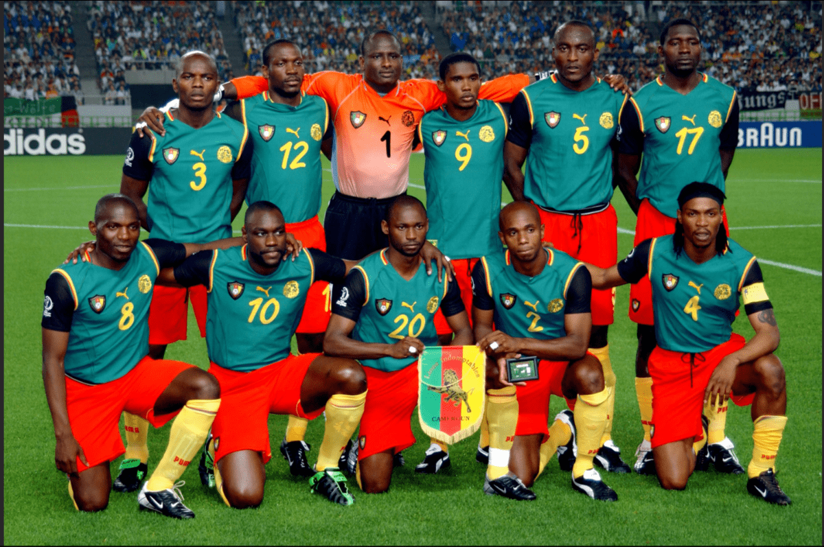 cameroon - Top 10 Worst World Cup Kits of all-time (PHOTOS)