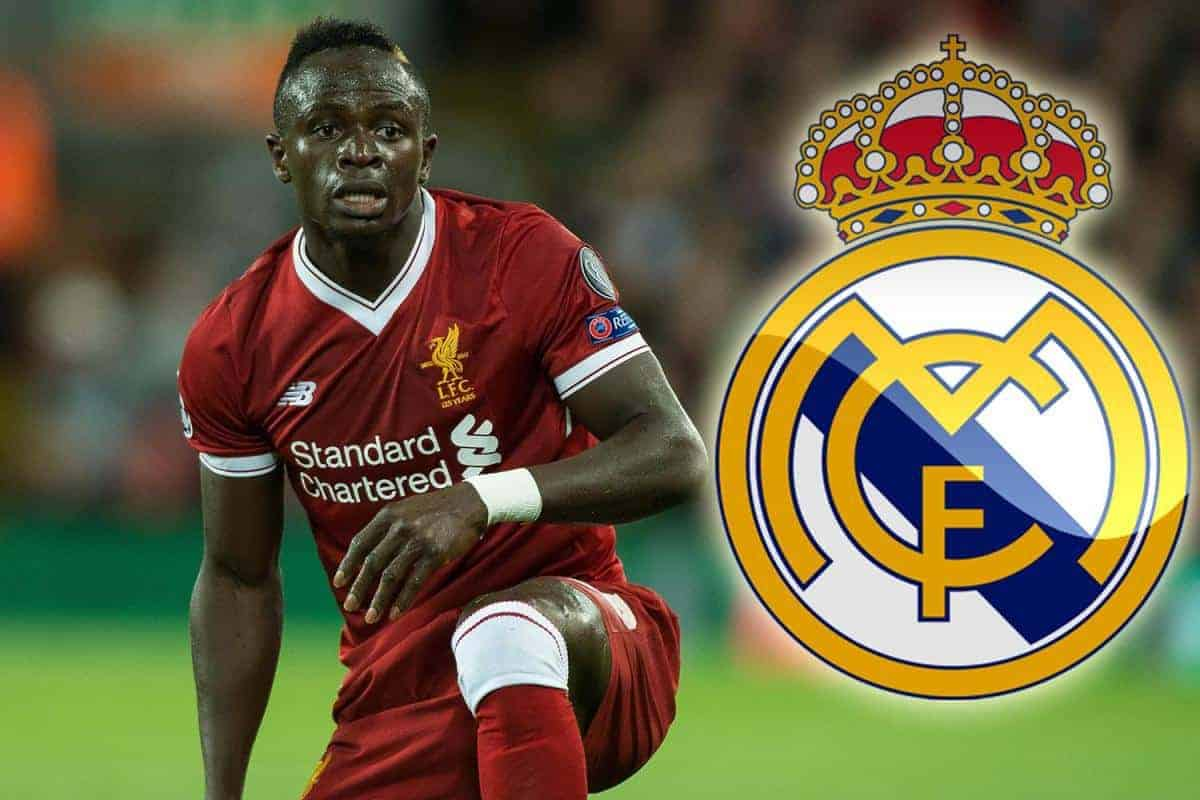 mane - Sadio Mane has spoken about Real Madrid transfer speculations