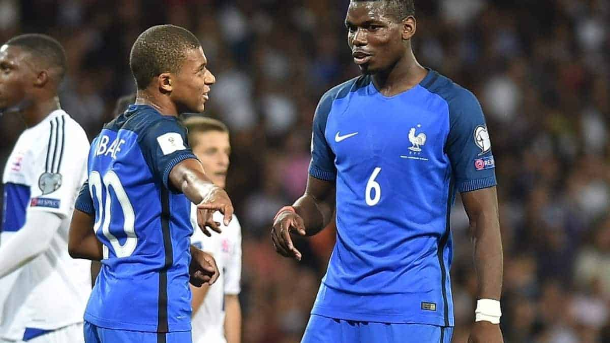 mbappe pogba - Zlatan has a surprise favourite for World Cup