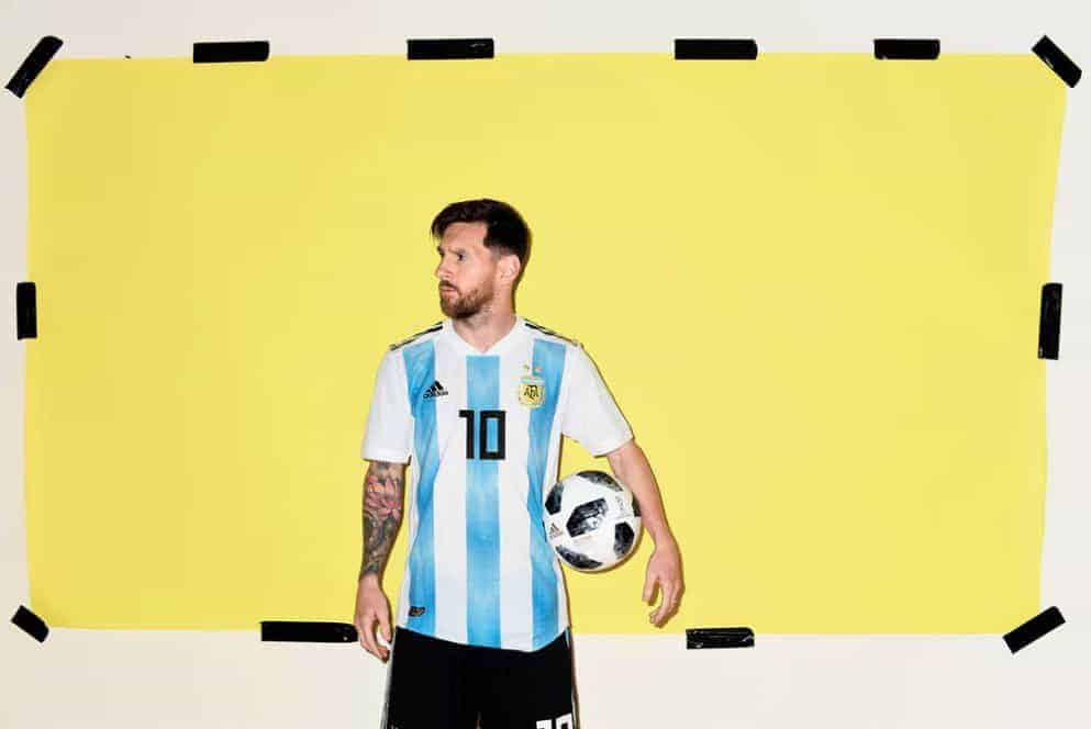 messi 5 - World Cup Gallery: Messi, Ronaldo, Salah and more (PHOTO)