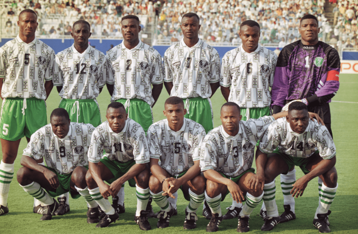 nigeria 1 - Top 10 Worst World Cup Kits of all-time (PHOTOS)