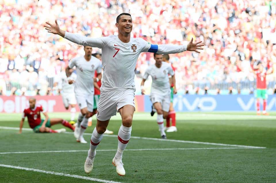 Portugal Vs Morocco Cristiano Ronaldo Wallpaper Vbet News
