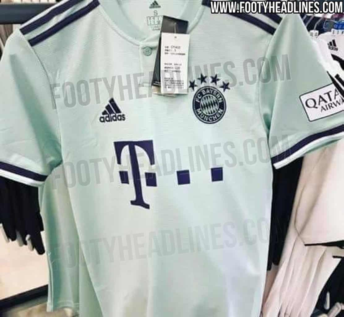 low priced ce440 a164f FC Bayern Munich 2018-19 away kit leaked (Photos) - Vbet News