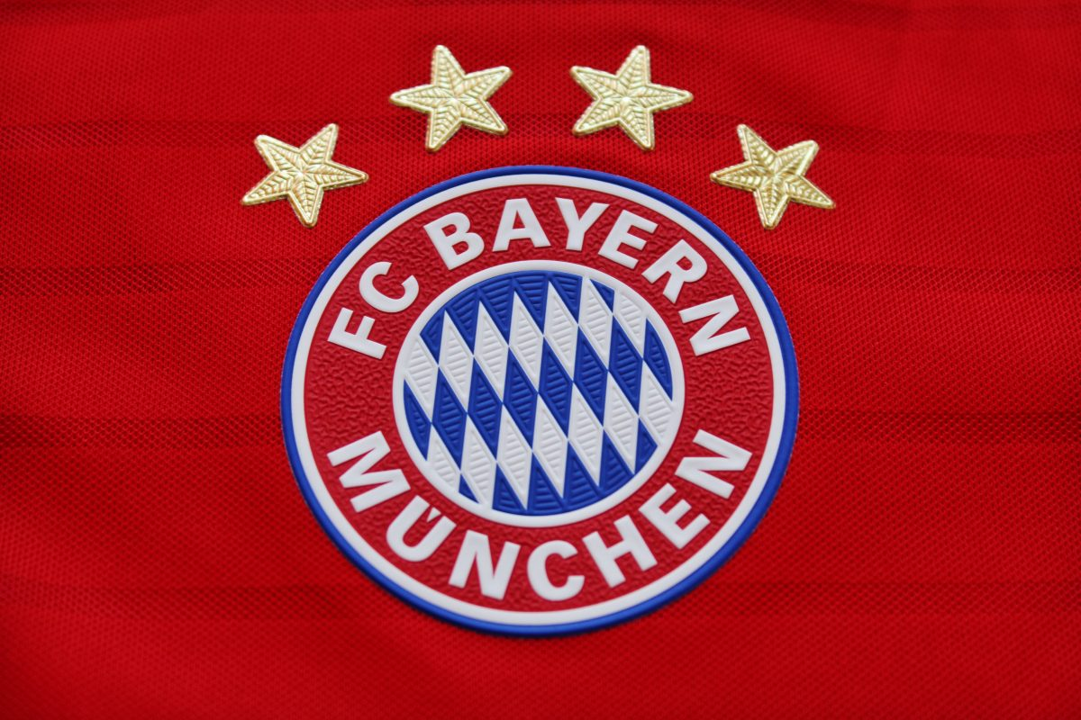e7cf7eeec37 The new FC Bayern Munich 18-19 away kit has been spotted in some Europe  stores. It is set to be released on July 19