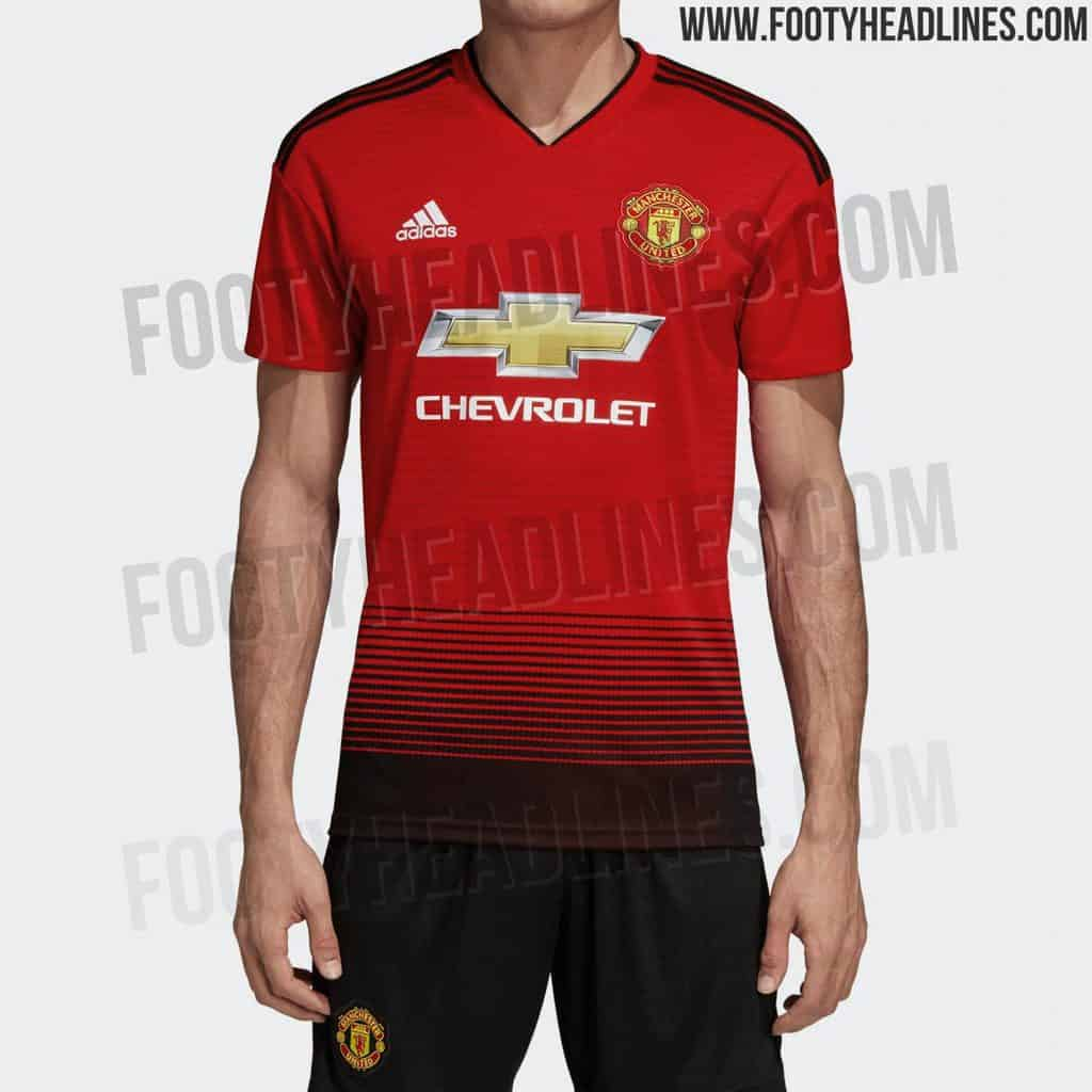 low priced 4c343 9a866 LEAKED: Manchester United 18-19 Home kit (PHOTO) - Vbet News