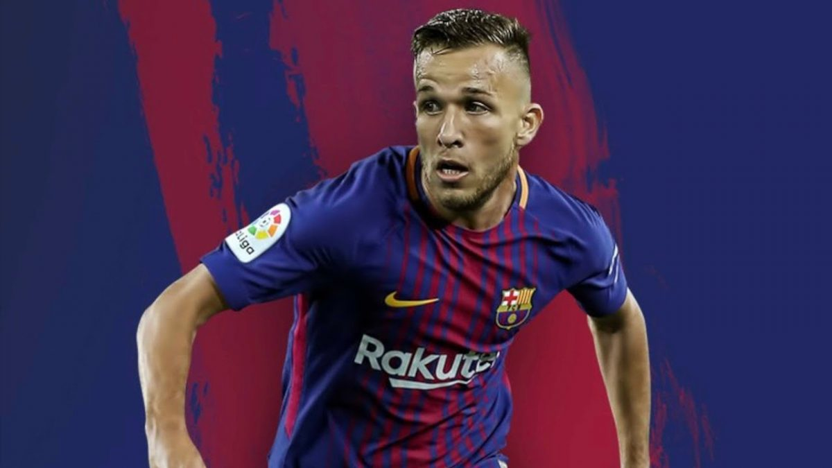 9560e77a482 Barcelona are close to make their first signing of the summer after Gremio  midfielder Arthur Melo confirmed he will join the club this month.