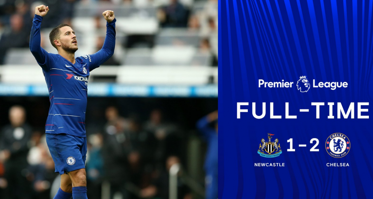 Full Time Newcastle 1 2 Chelsea All Goals And Highlights Vbet News