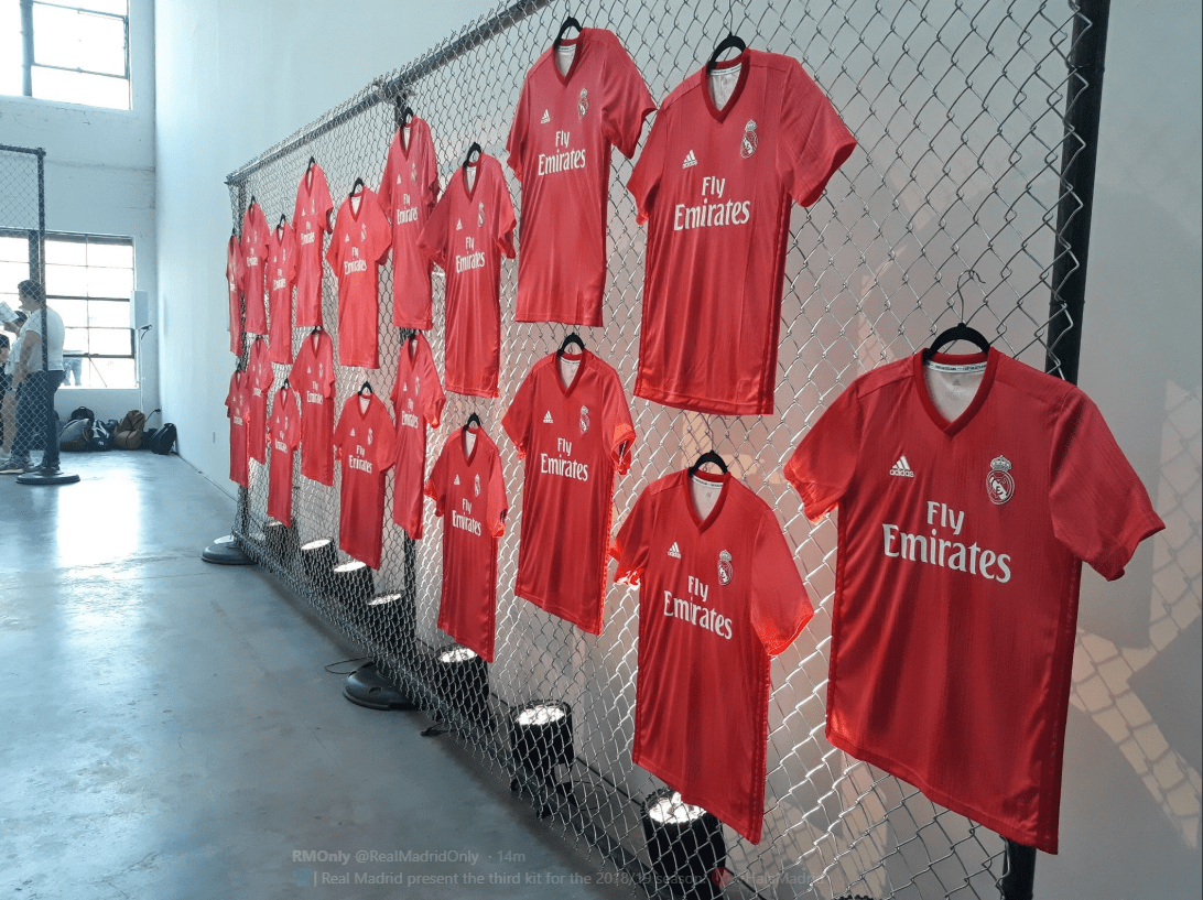online store 9a0f3 8eb42 Real Madrid third kit for the 2018-2019 season (PHOTO ...