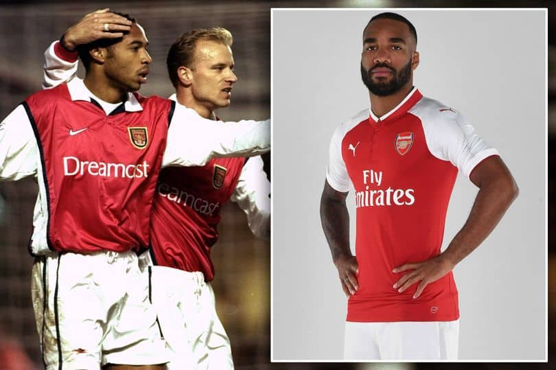Alexandre Lacazette Is Doing A Thierry Henry's Goal Style