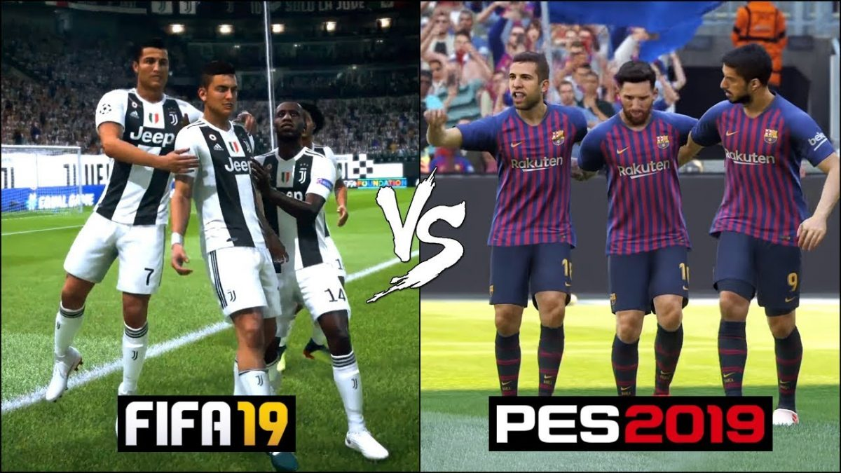 FIFA 19 vs PES 19: Why FIFA 19 is much better in terms of