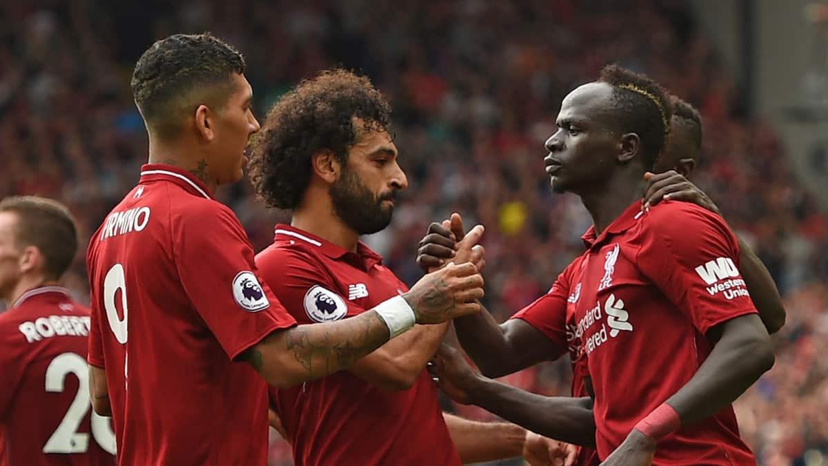 Image result for liverpool salah mane firmino