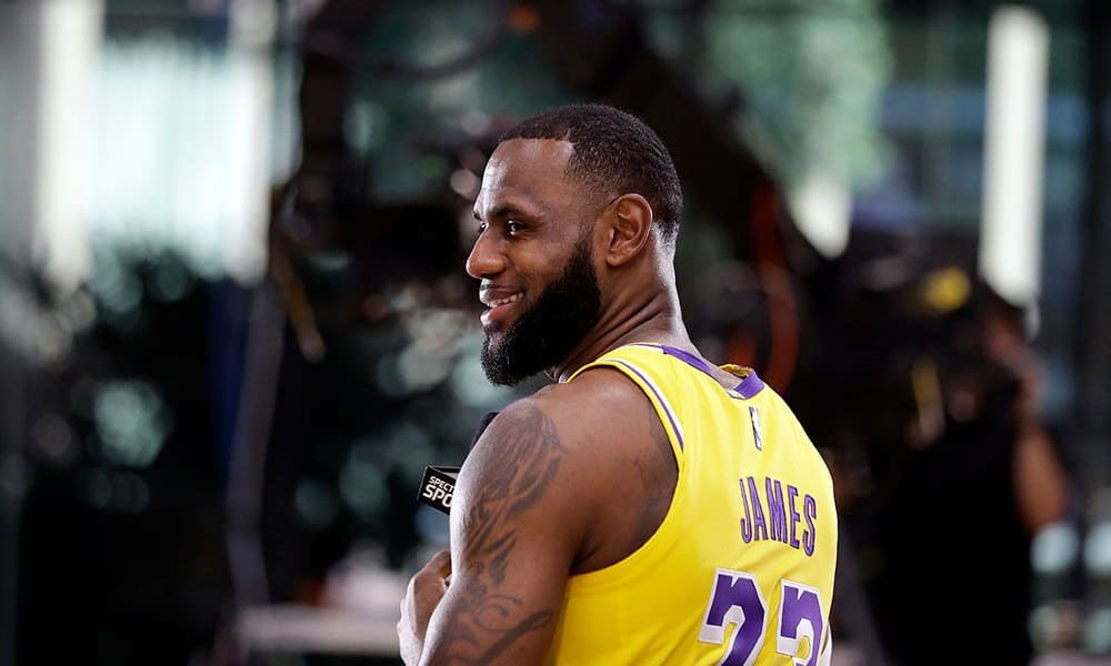 8e05c08d9 LeBron James and the Los Angeles Lakers committed to a process over the  next few years together. James was asked about what his losing patience  might look ...