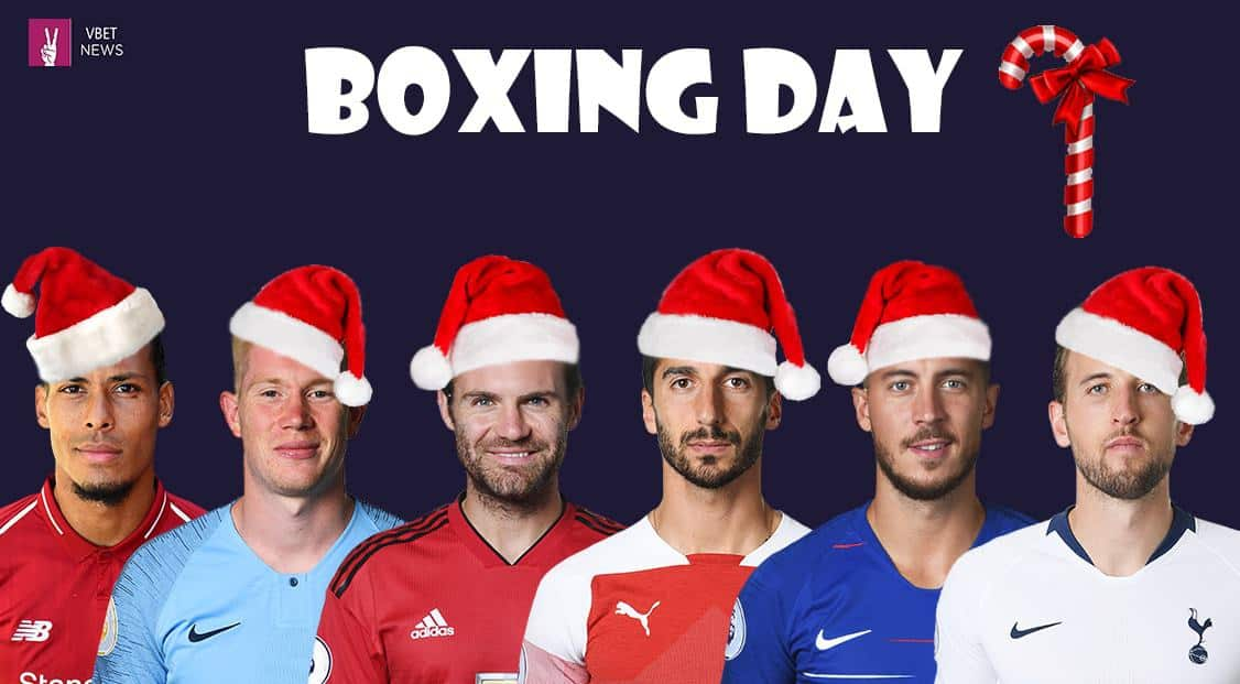 Boxing Day 2021 Premier League